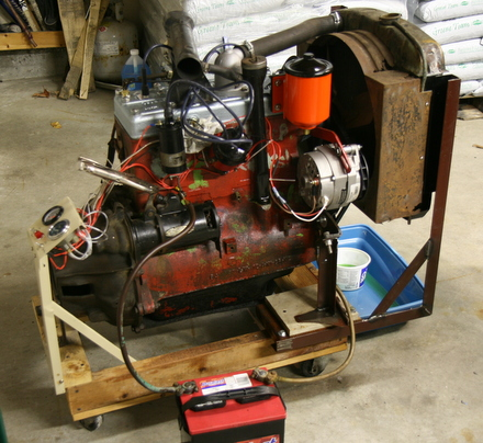 1950 Willys Jeep L134 engine
