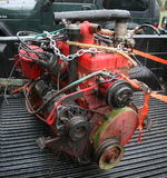 Willys L134 Jeep engine