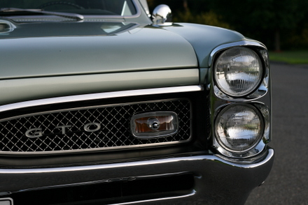 1967 GTO headlight detail